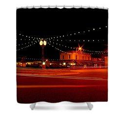 Columbiana Ohio Christmas Shower Curtain