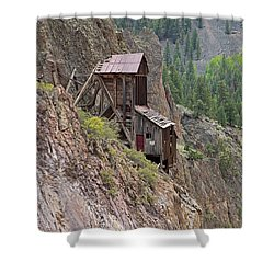 Commodore Mine On The Bachelor Historic Tour Shower Curtain