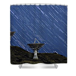 Communications To The Stars Shower Curtain by James BO  Insogna