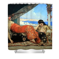 Constant's The Favorite Of The Emir Shower Curtain by Cora Wandel
