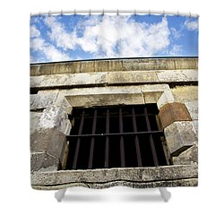 Convict Cell Shower Curtain