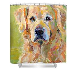 Cooper Shower Curtain by Kimberly Santini
