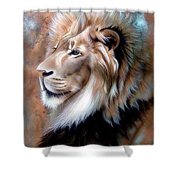 Copper King - Lion Shower Curtain
