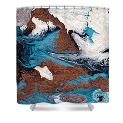Cosmic Blend One Shower Curtain by M West
