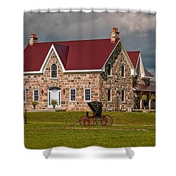 Country Living Shower Curtain by Steve Harrington