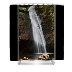 Courthouse Falls North Carolina Shower Curtain