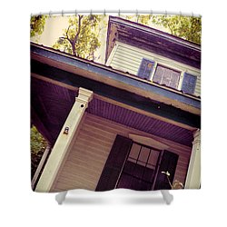Creepy Old House Shower Curtain by Jill Battaglia