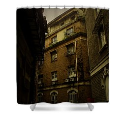 Shower Curtain featuring the photograph Crime Alley by Salman Ravish
