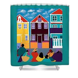 Curacao Dreams Shower Curtain