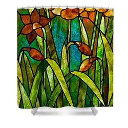 Daffodil Day Shower Curtain by David Kennedy