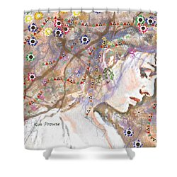 Daisy Chain Shower Curtain