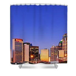 Dallas At Dawn Shower Curtain