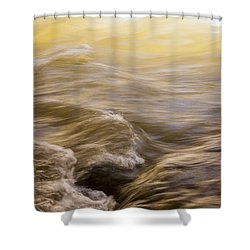 Dance Of Water And Light Shower Curtain