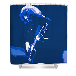 Shower Curtain featuring the photograph Dark Star  by Susan Carella