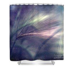 darkly series II Shower Curtain by Priska Wettstein