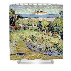 Daubigny's Garden Shower Curtain by Vincent van Gogh