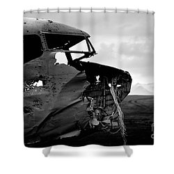 Dc 3 Iceland Shower Curtain by Gunnar Orn Arnason