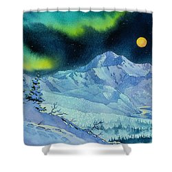 Denali Night Shower Curtain