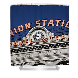 Denver - Union Station Shower Curtain