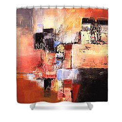 Depth Of Shadows Shower Curtain by Glory Wood