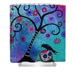 Dia De Los Muertos Crow Painting By Pristine Cartera Turkus