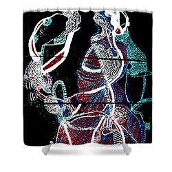 Dinka Shower Curtain by Gloria Ssali