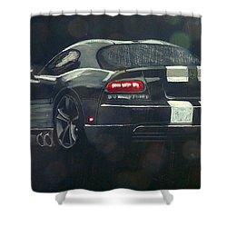 Dodge Viper 2 Shower Curtain