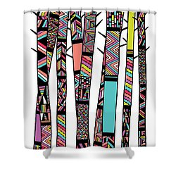 Dream Forest Shower Curtain by Susan Claire