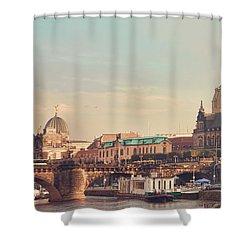Dresden Shower Curtain by Steffen Gierok