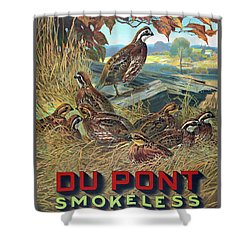 Du Pont Smokeless Shower Curtain