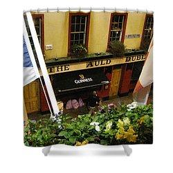 Dublin Pub Shower Curtain by Tim Townsend