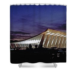 Dulles International Shower Curtain