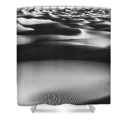 Dunes Death Valley Shower Curtain