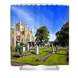 Dunfermline Abbey Scotland Shower Curtain by Craig B