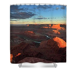 Early Morning At Dead Horse Point Shower Curtain