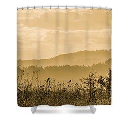 Early Morning Vitosha Mountain View Bulgaria Shower Curtain