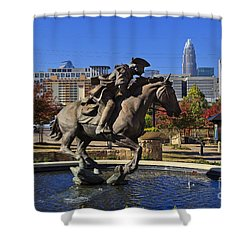 Elizabeth Park At Charlotte Shower Curtain