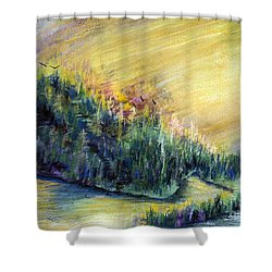 Enchanted Island Shower Curtain