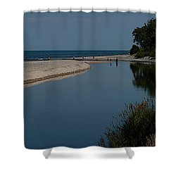 Entrance Shower Curtain by Joseph Yarbrough