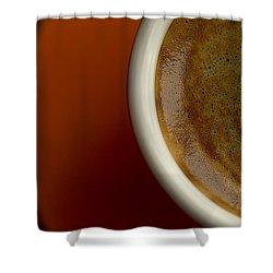 Espresso Shower Curtain by Chevy Fleet