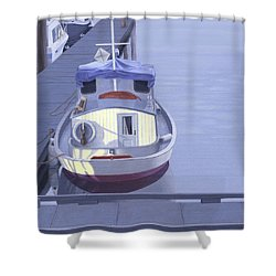 Evening At Port Hardy Shower Curtain