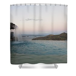 Evening Overlook Shower Curtain