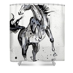 Exuberance Shower Curtain by Bill Searle