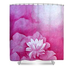 Fantasy Lotus Shower Curtain
