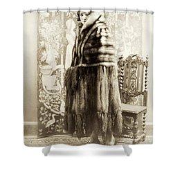 Fashion Fur, 1925 Shower Curtain by Granger