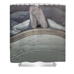 Feet Shower Curtain by Joana Kruse