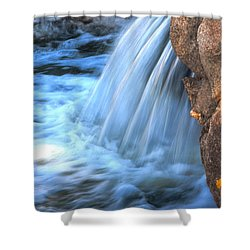 First Light Shower Curtain by Deb Halloran