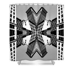 Flat Iron Shower Curtain
