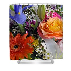 Floral Bouquet 5 Shower Curtain