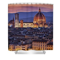Florence Duomo Shower Curtain